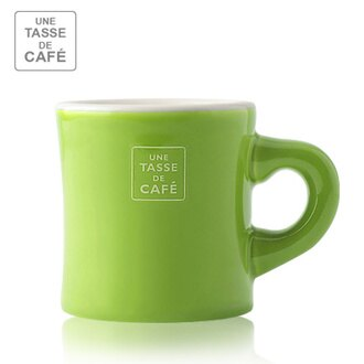 【 Meister Hand 】UN CAFÉ馬克杯 150ml / 蘋果綠色 Apple Green