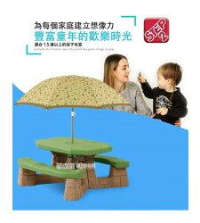 【晴晴百寶盒】美國進口 六人野餐遊戲桌STEP2 手眼協調角色扮演 辦家家酒生日禮物益智遊戲玩具CP值高 品質W869