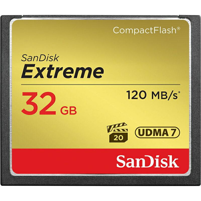 ◎相機專家◎ Sandisk Extreme 32GB CF 800X 120MB/s 32G 群光公司貨