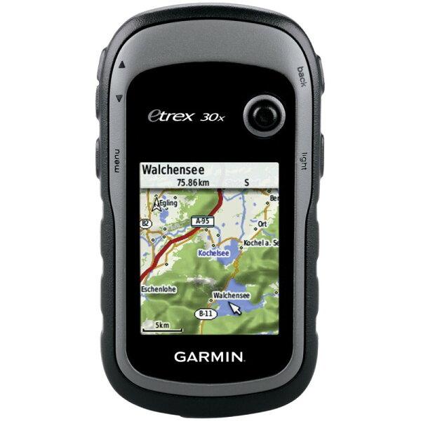 台北山水戶外用品專門店:GarmineTrex30x掌上型雙星定位導航儀衛星導航GPS
