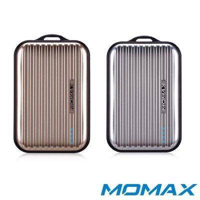 【MOMAX(摩米士)】8400mAhiPowerGoMini行李箱造型行動電源(金銀)
