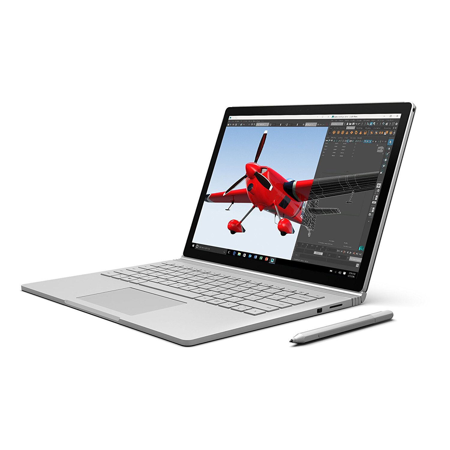 "Microsoft 13.5"" Surface Book Intel i7 512GB 16GB NVIDIA GeForce Windows 10 SW6-00001 0"