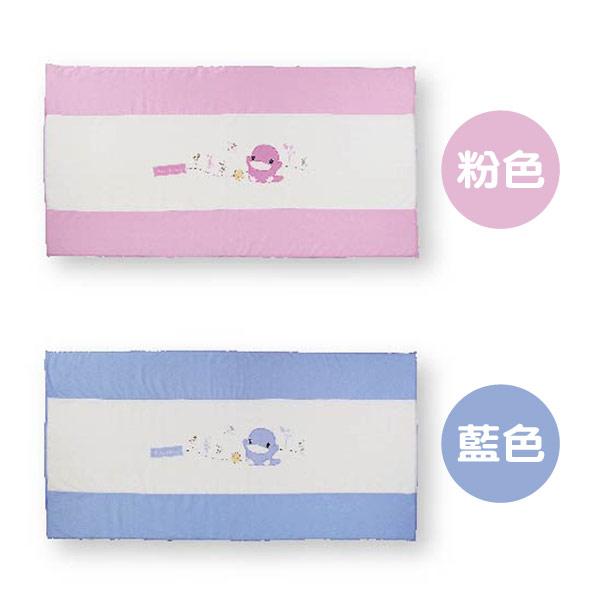 KU KU 酷咕鴨 豪華透氣乳膠床墊 (藍/粉)【悅兒園婦幼生活館】