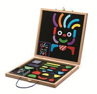 益智拼圖推薦到【淘氣寶寶】智荷 DJECO 創意磁鐵拼圖盒 DJ03136【公司貨】就在淘氣寶寶推薦益智拼圖