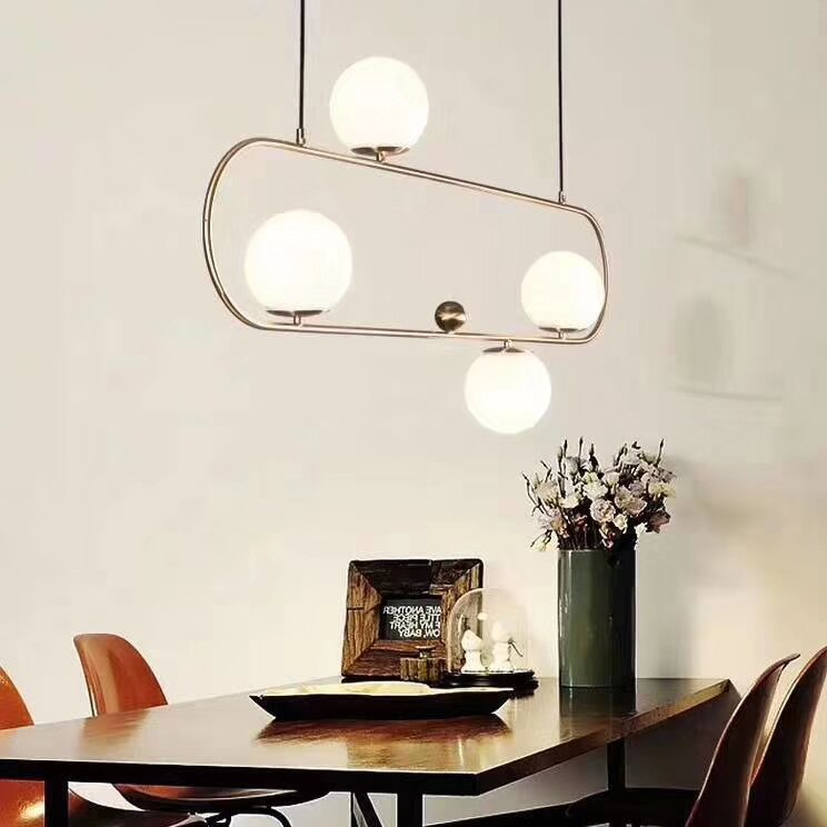 Bright moon輪月 吊燈-四燈