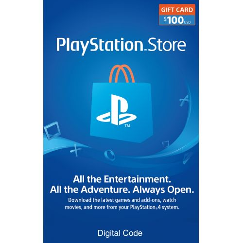 $100 Playstation Store Gift Card + $15 Rakuten.com Credit