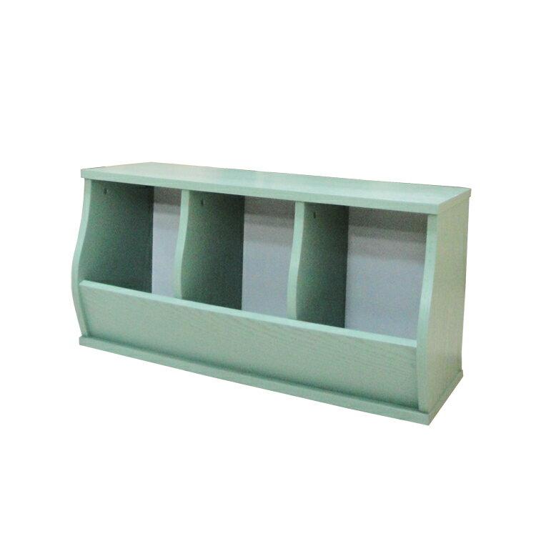 免運費~(3格)DIY質感斜取式造型收納櫃 / 可堆疊收納櫃 / 格櫃 / 斜櫃 / 置物櫃 / 置物盒~ 寬80.5*深30.5*高41公分  #樂創木工# 7