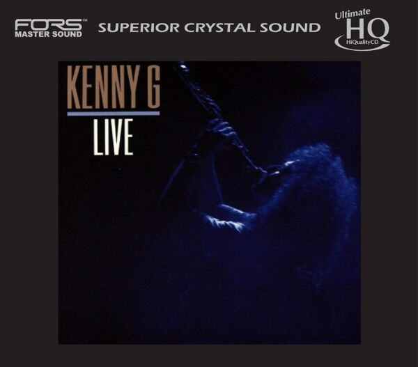 停看聽音響唱片~~HQCD~Kenny G:Live( 編號)