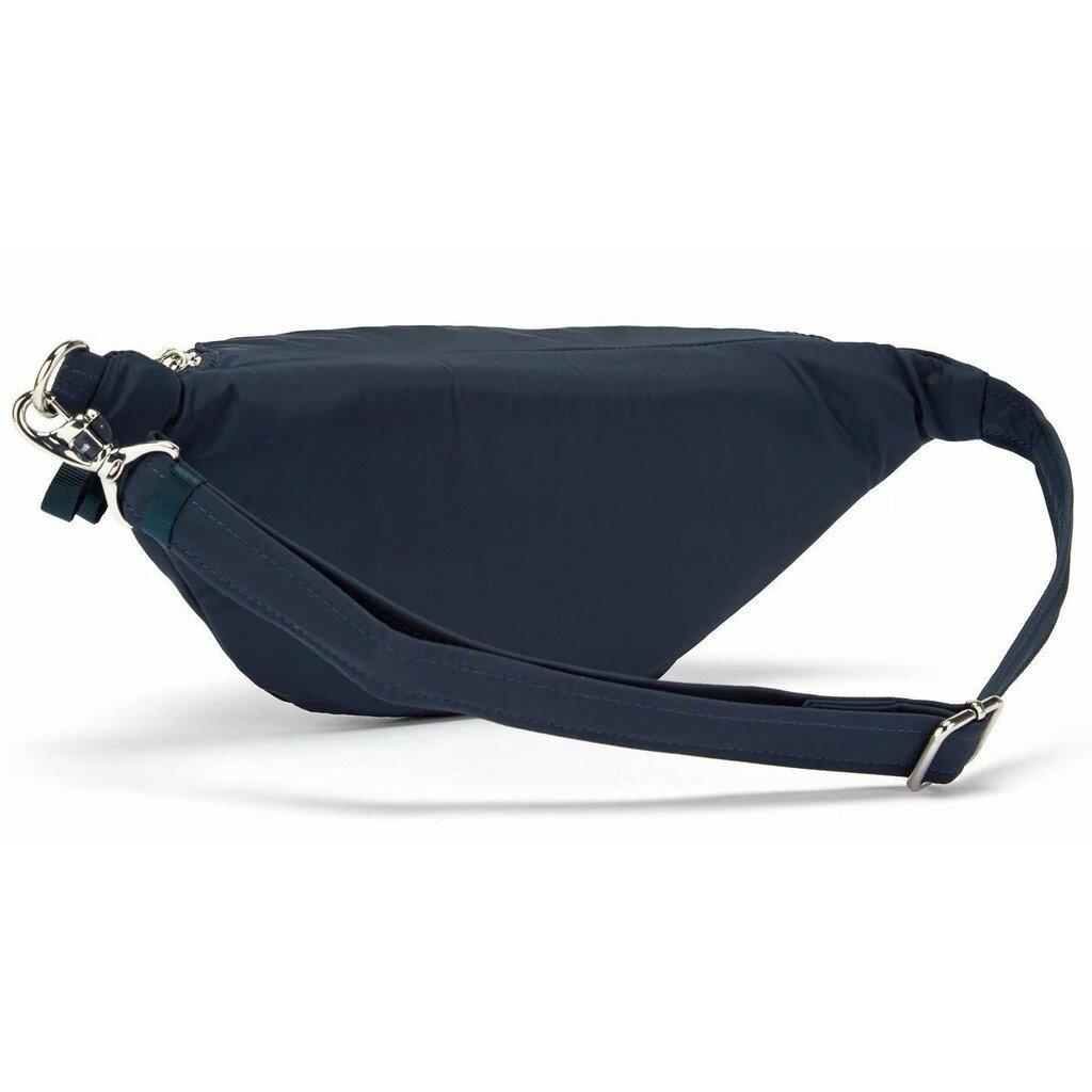 澳洲《Pacsafe》Stylesafe   防盜腰包 2L 海軍藍
