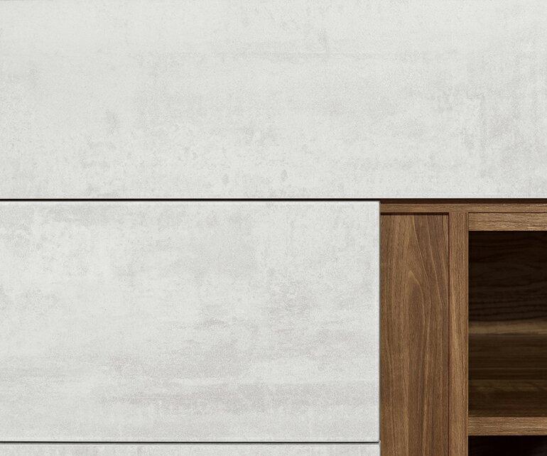 【九日木作】緹諾4尺餐櫃(含石面)(E)