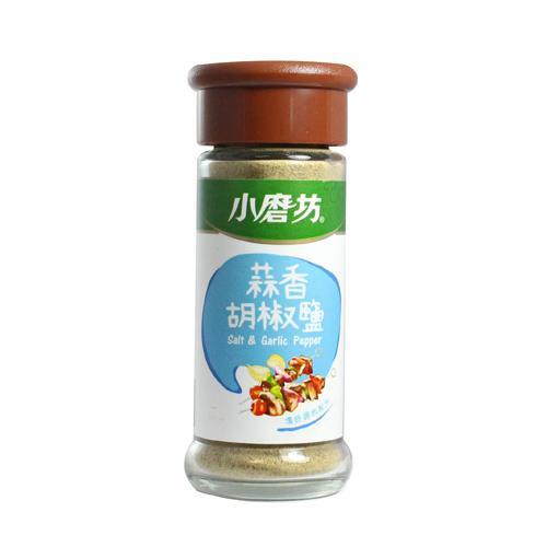 小磨坊蒜香胡椒鹽45g【愛買】
