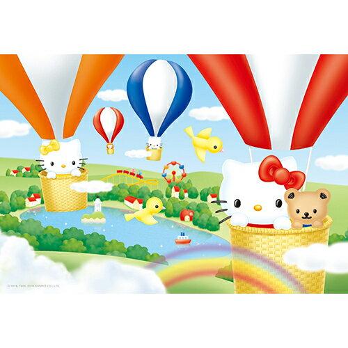 ~P2 拼圖~Hello Kitty晴空熱氣球拼圖300片 HP0300S~109