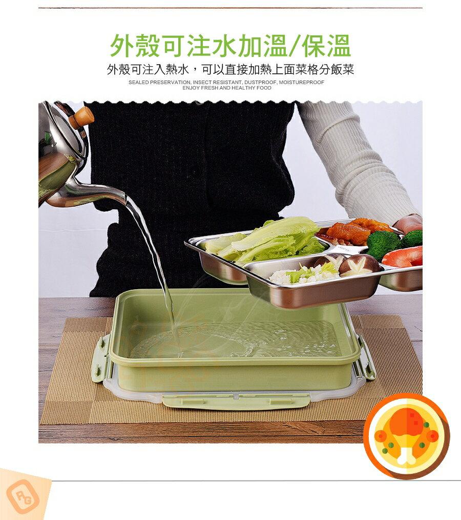 ORG《SD1012》304不鏽鋼~ 可微波 五格 便當盒 野餐盒 餐盒 露營 餐盤 環保餐盒 不鏽鋼餐具 不鏽鋼餐盒 8