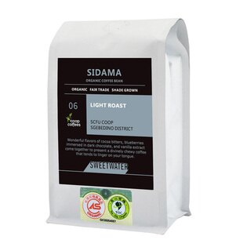 【SWEETWATER】西達摩有機咖啡豆(227g)