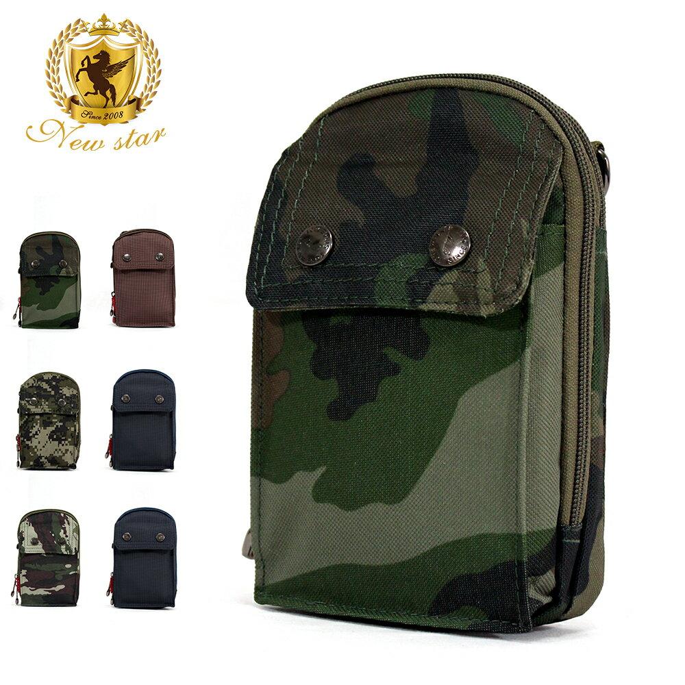 腰包 輕便素面迷彩雙層掛包側背包手機包包 NEW STAR BW33 1