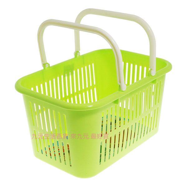 【九元生活百貨】K216吉米小手提籃 置物籃 購物籃