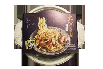 在地台灣美味『大甲乾麵』-微波盒 台式酸菜(五辛素)