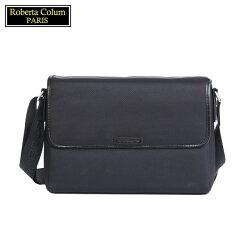 【Roberta Colum】諾貝達 百貨專櫃 男仕背包 側背包 公事包(黑色8607)【威奇包仔通】
