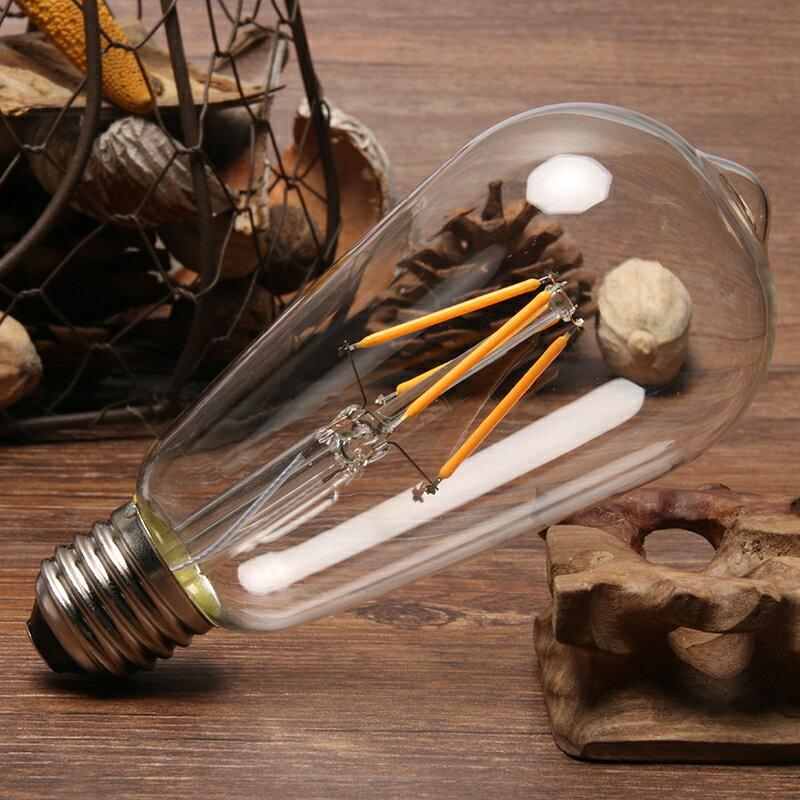 【威森家居】LED 愛迪生燈泡 E27 ST64 驚嘆號仿鎢絲復古懷舊省電節能特價照明光源環保110v L160317