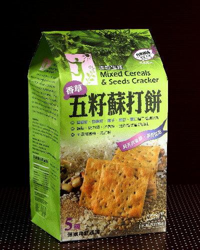 正哲五籽蘇打餅 - 香草 6小包裝入 348克 餅乾/蘇打餅/零食