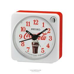 鬧鐘 SEIKO可口可樂聯名款白色【NV78】原廠公司貨