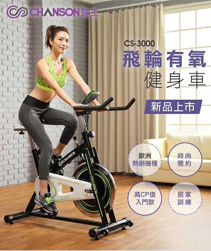 強生chanson-飛輪有氧健身車CS-3000歐美熱銷機種