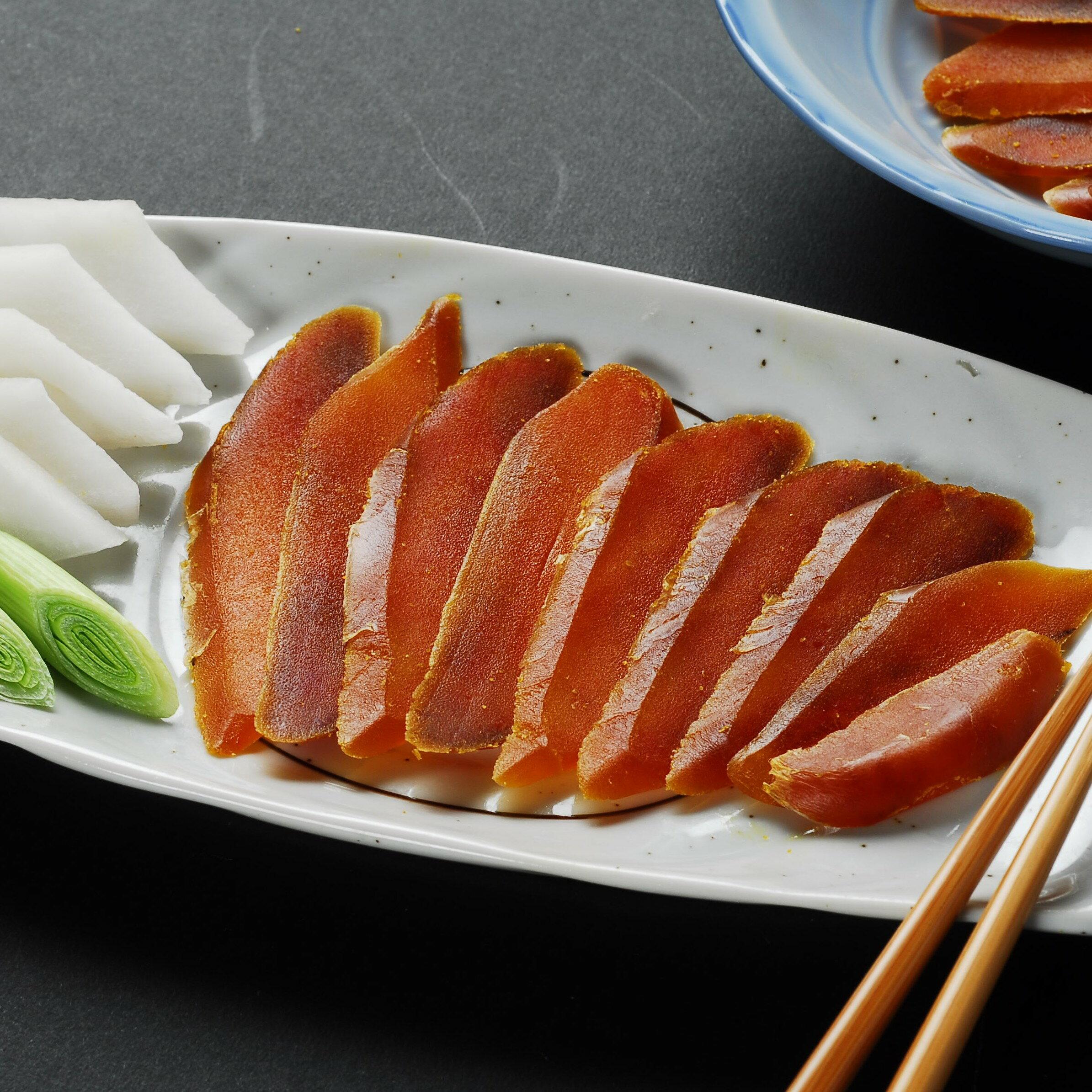 珍芳熟烤烏魚子 二片裝 (單片:130g±10g) 0