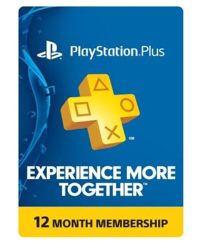 Playstation Plus 12 Month Card 0