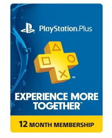 Playstation Plus 12 Month Card