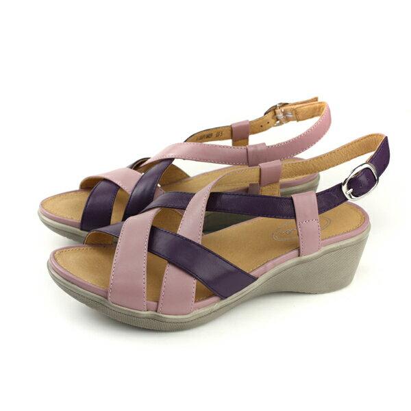Kimo涼鞋跟鞋女鞋紫色K18SF136029no795