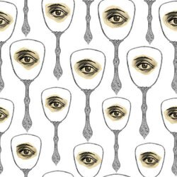 Mind the Gap /  Mirror's Eye Neutral WP20082 壁紙「訂貨單位156cm x 3m/套(1套3張壁板)」眼睛