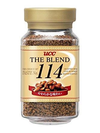 《Chara 微百貨》 日本 UCC 經典 the blend 114 117 即溶 咖啡罐 90g 原裝進口 1