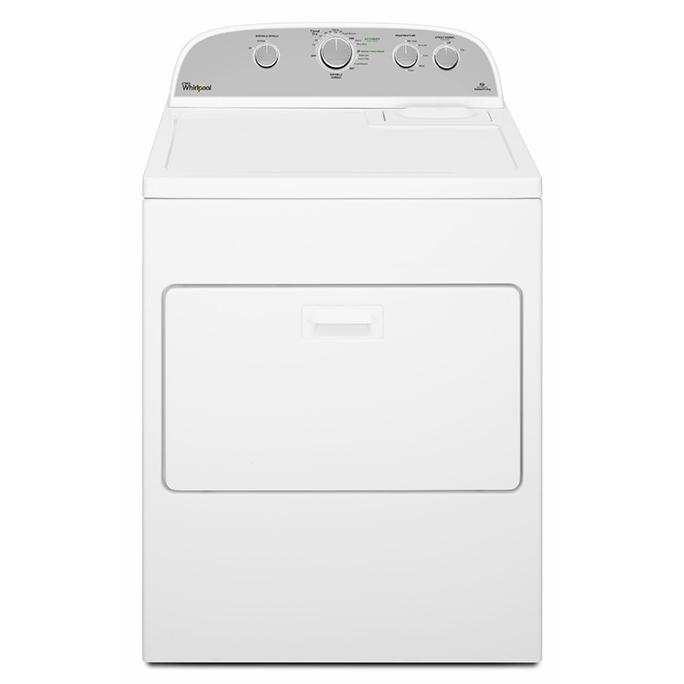 Whirlpool 惠而浦 WED5000DW  (上下掀蓋 .220V.3 線) 白衣美製 12kg 乾衣機