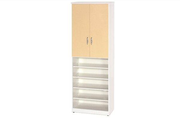 【石川家居】880-03(鵝黃白色)鞋櫃(CT-320)#訂製預購款式#環保塑鋼P無毒防霉易清潔