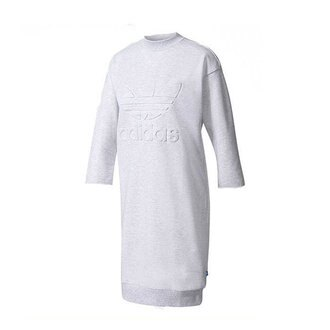 【EST S】Adidas Originals Sweatshirt Dress BK5946 連身裙 灰 H0303