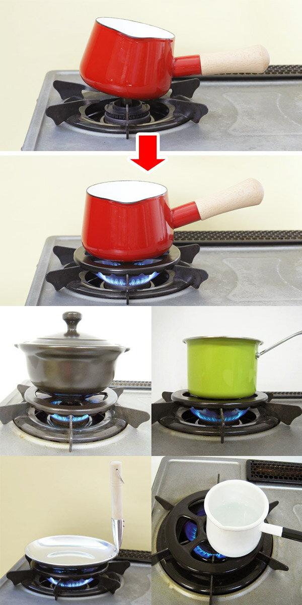 【超取免運】日本製 五德 灶腳架 瓦斯爐專用架 爐灶用小腳架 700℃耐熱陶瓷 耐熱陶瓷*夏日微風* 2