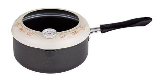 【KAI貝印】DZ-5848 IH 單柄油炸鍋 20cm 附油溫計 日本製
