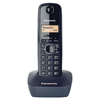 國際牌 Panasonic 數位式無線電話 KX-TG1611TW (黑色)