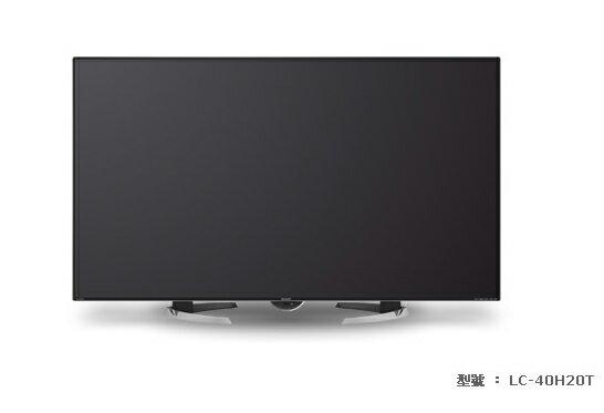 SHARP夏普 40吋日本原裝FHD LED連網液晶電視LC-40H20T