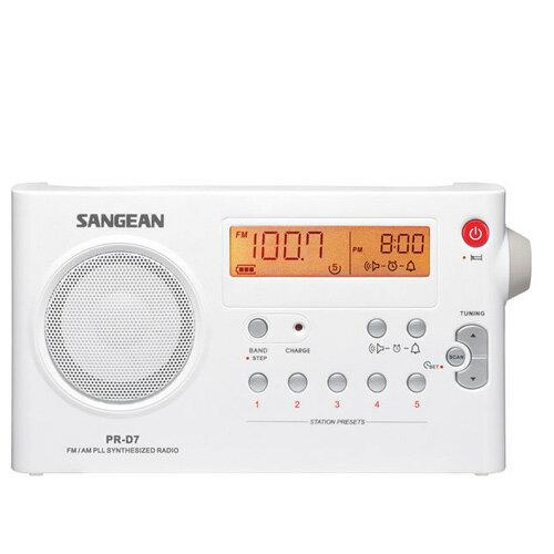 SANGEAN 山進二波段數位式充電收音機 PR-D7 / PRD7