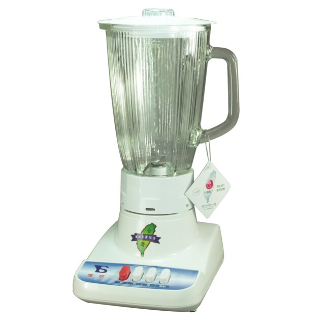 雅瑟1.5公升玻璃杯果汁機TR-021