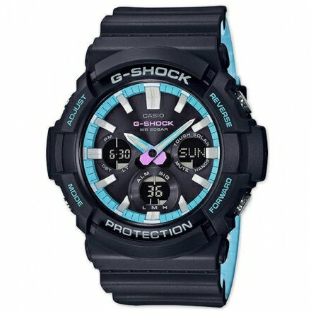 G-SHOCK強悍炫彩潮流男錶53mmGAS-100PC-1A防水CASIOGAS-100PC-1ADR【迪特軍】