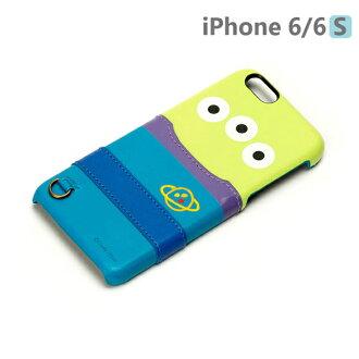 【日本 PGA-iJacket】UNISTYLE Disney 授權商品 iPhone 6/6s 專用手機殼 - Pixar 三眼怪