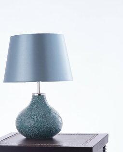 鴨蛋藍馬賽克桌燈-BNL00085