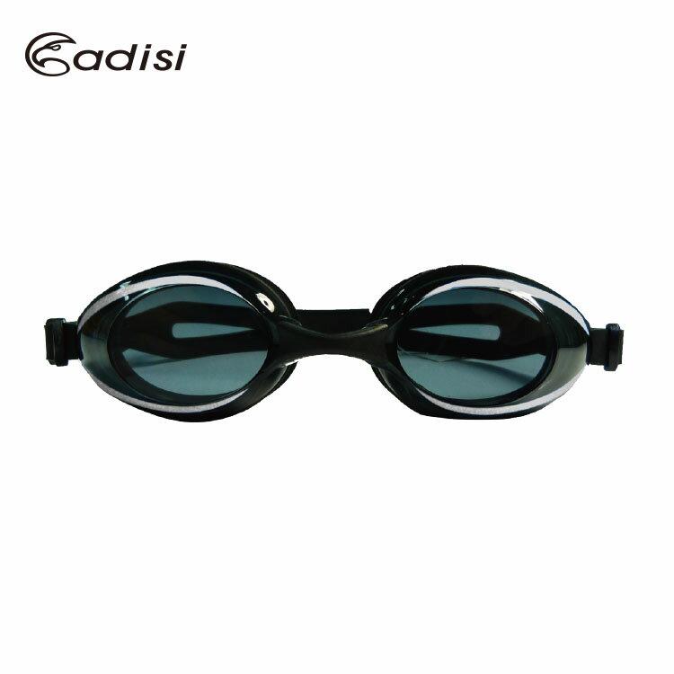 ADISI 舒適平光 泳鏡 AS16052   城市綠洲 ^(有色鏡片.可拆式.防霧.抗紫