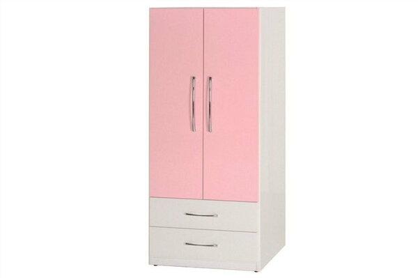 【石川家居】829-03(粉紅白色)衣櫥(CT-113)#訂製預購款式#環保塑鋼P無毒防霉易清潔