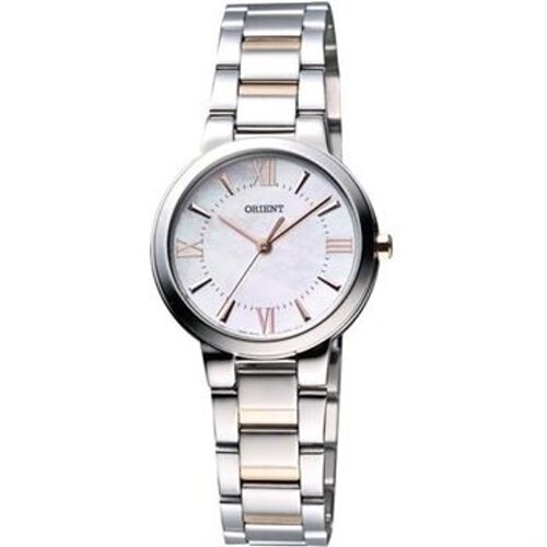 東方 ORIENT 簡約氣質珍珠母貝女腕錶/FQC0N002W