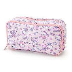 X射線【C924310】Hello Kitty 筆袋-糖果,美妝小物包/筆袋/面紙包/化妝包/零錢包/收納包/皮夾/手機袋/鑰匙包