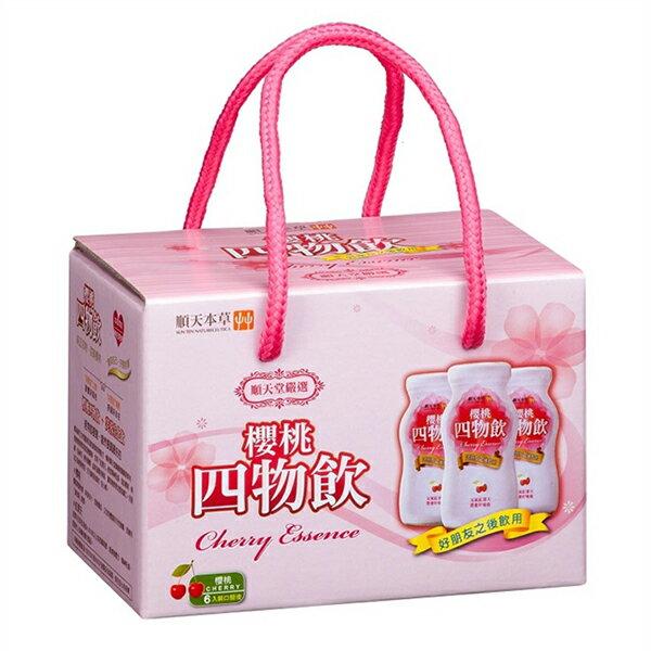 順天本草櫻桃四物飲(6瓶盒)x1