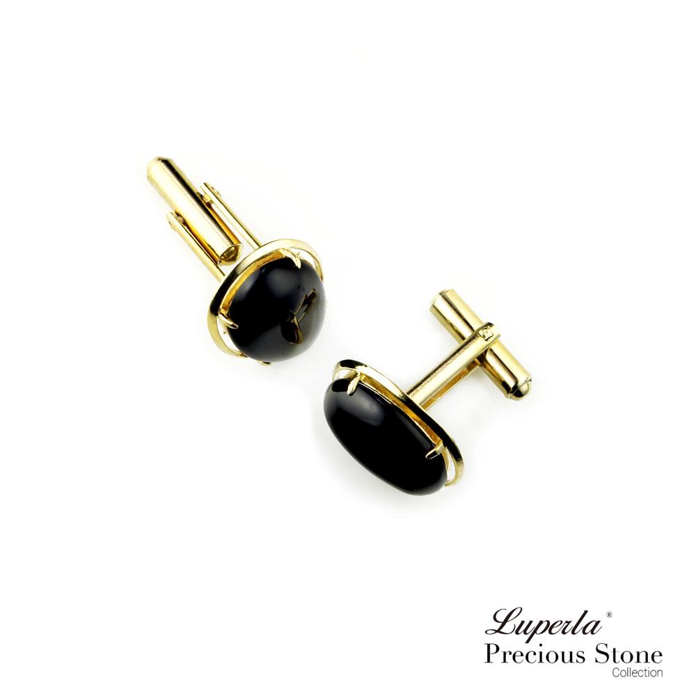 大東山珠寶 極簡黑 仕紳系列 黑瑪瑙  西裝領徽 袖扣 4